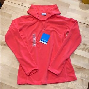 NWT Columbia Arctic Air 1/2 zip fleece